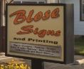 Blose Signs and Printing